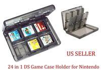 24 DS Game Case Holder for Nintendo 3DS DSi XL Lite DS GREY 3DS 2DS DSi DS Lite
