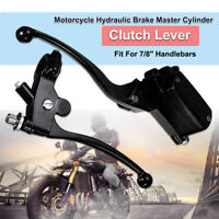 2X 7/8'' 22mm Universal Motorcycle Scooter Brake Clutch Lever Master
