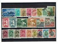 Thailand 23 1960s Mostly Used Stamps, few faults - C6