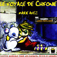 CD LE VOYAGE OF CHIFONIE MARIE AVEZ comedy musical for enfants