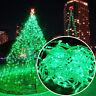 2-10M 100 LED Christmas Wedding Xmas Party Outdoor Decor Fairy String Light Lamp