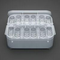 E 12 Reptil Eier Inkubator Tray+Temperatur Gecko-Eidechse Schlange Ei Hatch X3G6