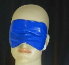 Maske PVC blau schwarz Neu Diargh