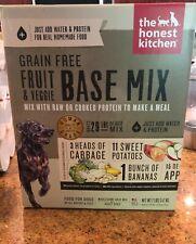 Honest Kitchen 7 lb Grain Free Fruit & Veggie Base Mix Dog Food exp 1/2021