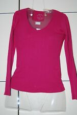 HERMKO 17830 Lot de 2 Maillot de Corps Femme Manches Longues Woman Longsleeve Shirt Coton//Modal