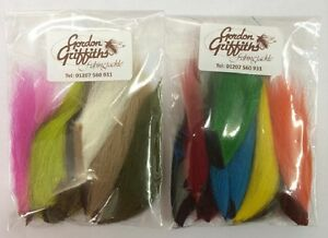 Pack of 6 Mixed Bucktail Pieces - Gordon Griffiths