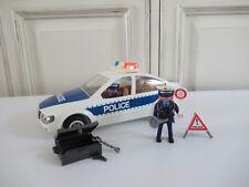 👿 Playmobil Réf: 5184 jeu De Construction Voiture De Police Avec Lumières