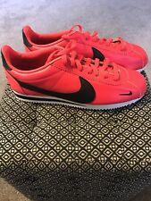Nike Classic Cortez Premium Shoes Men's Size 10 Red Orbit 807480-601