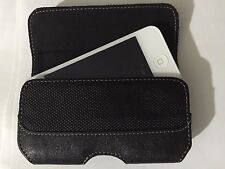 Griffin black horizontal belt clip hip case for Blackberry Storm for iPhone 4 4s
