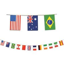 International Flag Banner Wall Party Decorations School Classroom Decor Pennants