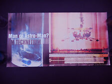Man Or Astro Man Made From Technetium 1997 original in store promo poster!!!