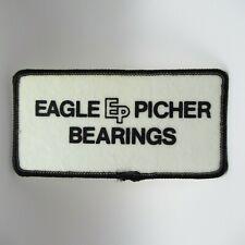 "Vintage Patch - Eagle Picher Bearings - EP Logo - Uniform - 4"" - Collectible"