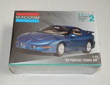 1/25 Monogram '93 Pontiac Trans Am model kit SEALED R11945