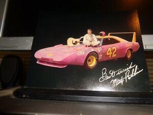 1970 Marty Robbins No. 42 Dodge Daytona Vintage NASCAR Postcard