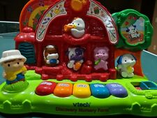 VTech Discovery Nursery Farm Educational Interactive Learning Musical Toy, GUC!!