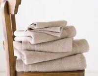 LUXURY SOFT 100% EGYPTIAN COTTON TOWEL BALE SET 6 PC BATHROOM HAND FACE TOWELS