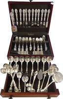 Melrose by Gorham Sterling Silver Flatware Service for 12 Set 119 Pieces Huge