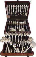 Melrose by Gorham Sterling Silver Flatware Service For 12 Set 119 Pieces Huge!
