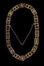 Masonic Collar MASTER MASON BLUE METAL CHAIN DMR-400G