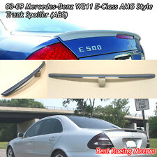A Style Trunk Spoiler Wing (ABS) Fits 03-09 Mercedes-Benz W211 E-Class