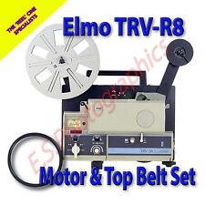 ELMO TRV- R8 Standard 8mm Transvideo Projector Belts Set of 2