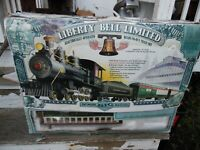 Bachmann Big Haulers VTG 4 Pc Liberty Bell Limited Freight Train Set G Scale