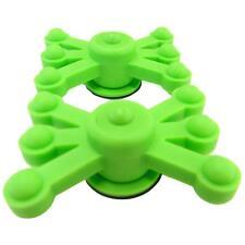 BowJax MonsterJax Solid Limb Dampeners, 2 Pack Flo Green