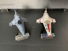 Battlestar Galactica Titanium Viper mk.VII Clean & White variants ship diecast