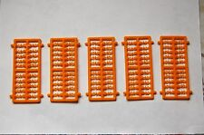 5 x FRAMESOF 4mm INVISIBLE BOILIE STOPS,CARP,FISHING 20 STOPS PER FRAME