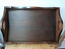 Vintage Wooden Butler's Butler's Serving Tray.   Original Kitchenalia