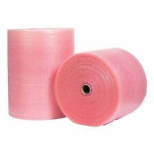 PINK ANTI STATIC SMALL BUBBLE WRAP 300mm/  500mm / 750mm/ 1500mm UK Made Rolls