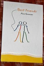 "Blue Mountain Arts Greeting Card ""Best Friends Are Forever"" B2GO SALE"