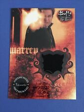 Buffy the Vampire Slayer Big Bads Warren PW6 Pieceworks Card