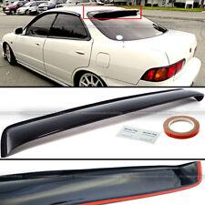 For 94-01 Acura Integra 4DR Sedan JDM Rear Window Roof Vent Visor Spoiler Wing