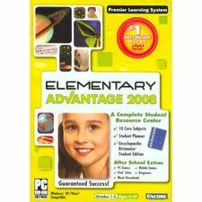 NEW Encore Software Elementary School Advantage 2008 (grades 12360
