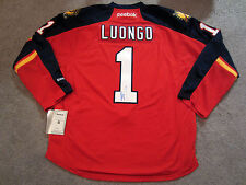 ROBERTO LUONGO Florida Panthers SIGNED Autographed Home JERSEY w/ BAS COA New L