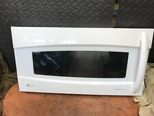 GE Profile Convection Microwave White Oven Door