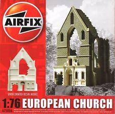 Airfix European Church Belgian Ruin Diorama 1/76 1/72 Resin a75006