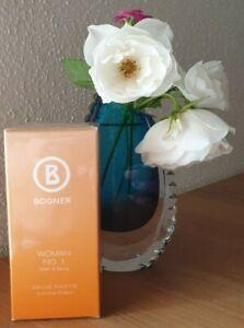 Bogner Woman No.1 Summer Edition OVP NEU Limitiert Eau de Toilette 50ml. Vintage