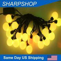 Christmas LED Bulb Light G40 Globe String Light for Wedding and Party Decor