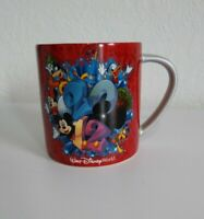 Walt Disney World Parks Coffee Mug Cup Mickey Minnie Mouse Donald Duck 2012 Tall