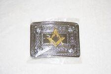 Masonic Scottish Highland Kilt Belt Buckle (Free Delivery within Australia)