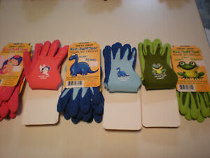 (YR CHOICE 3 PAIR), 2 STYLES, 6 DESIGNS BELLINGHAM GARDEN KIDS GLOVES SIZE XS