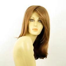 mid length wig for women dark blond copper ref: TARA g27 PERUK