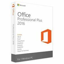 Microsoft Office 2016 Professional Plus Retail Produktkey 24/7 Versand