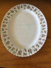 """ROYAL ALBERT china WINSOME pattern OVAL MEAT Serving PLATTER 15"""""""