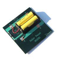 1X(1W 4V Cargador solar recargable de la celula de la bateria AA con la bas B3V8
