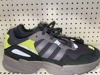 Adidas Originals Yung 96 Mens Athletic Running Shoes Size 9.5 Gray Neon Green