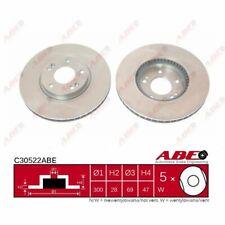 Bremsscheibe, 1 Stück ABE C30522ABE