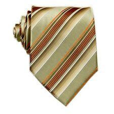 D.berite Multi-color Striped Men's 100% Silk Groom Party Tie Classic Necktie F58